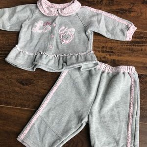 Other - Girls 6-9 mos sweatsuit
